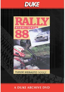 Manx International Rally 1988 Duke Archive DVD