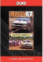 Tour De Corse Rally 1987 Duke Archive DVD