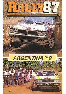 Argentinian Rally 1987 Duke Archive DVD