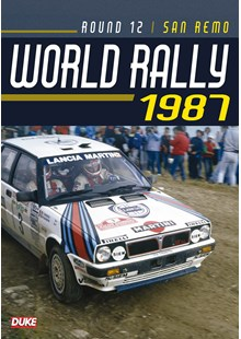 San Remo Rally 1987 Duke Archive DVD