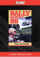 Tour De Corse Rally 1988 Duke Archive DVD