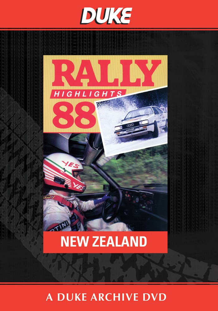 New Zealand Rally 1988 Duke Archive DVD