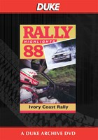 Ivory Coast Rally 1988 Duke Archive DVD