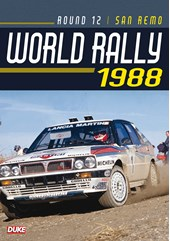 San Remo Rally 1988 Duke Archive DVD
