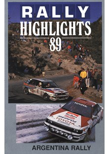 Argentinian Rally 1989 Duke Archive DVD