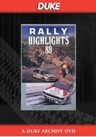 Ivory Coast Rally 1989 Duke Archive DVD