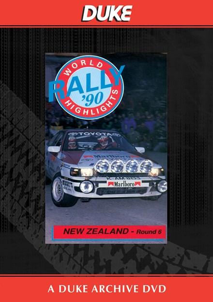 New Zealand Rally 1990 Duke Archive DVD
