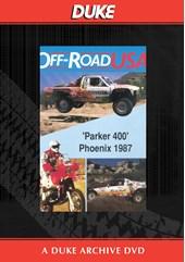 Parker 400 USA Off Road 1987 Duke Archive DVD