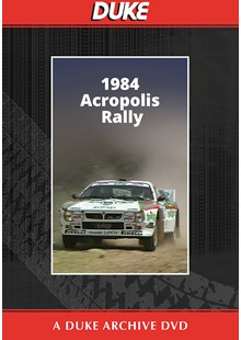 Acropolis Rally 1984 Duke Archive DVD