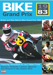 Bike GP 1983 San Marino & British DVD