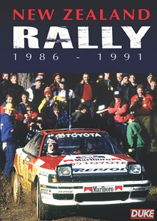 New Zealand Rally 1986-91 DVD