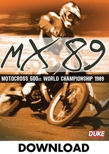 World Motocross Championship Review 1989 - Download
