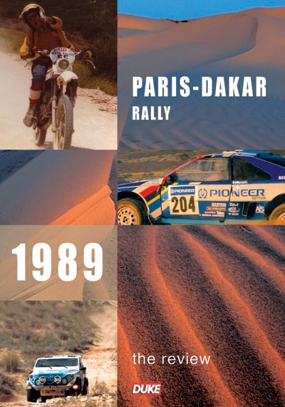 Paris Dakar Rally 1989 DVD