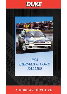 Burmah And Cork  Rally 1993 Duke Archive DVD