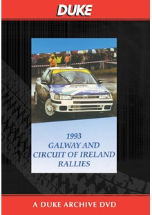 Circuit Of Ireland And Galway Rallies 1993 Duke Archive DVD