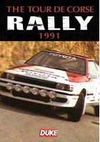 Tour De Corse Rally 1991 Duke Archive DVD