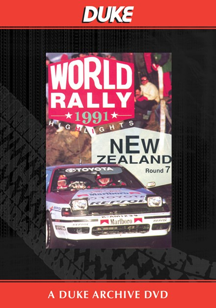 New Zealand Rally 1991 Duke Archive DVD