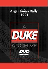 Argentinian Rally 1991 Duke Archive DVD