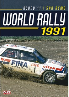 San Remo Rally 1991 Duke Archive DVD