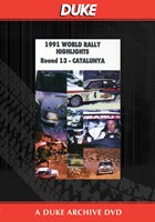 Catalunya Rally 1991 Duke Archive DVD