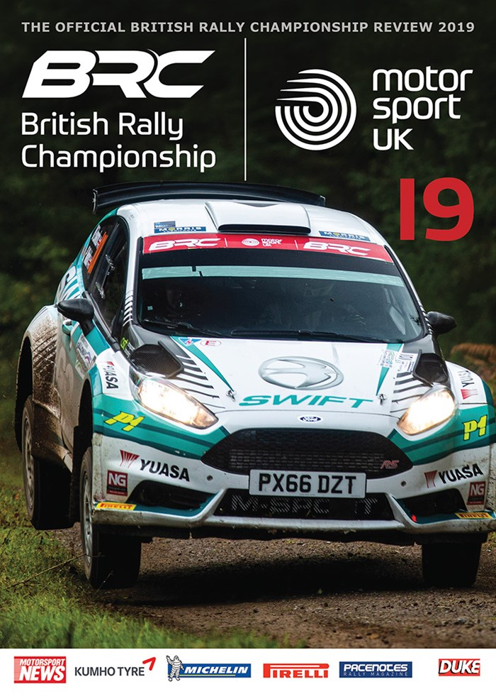 British Rally Championship Review 2019 DVD