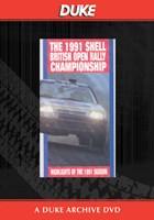 British Rally Championship Review 1991 Duke Archive DVD