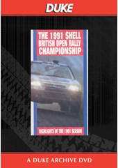 British Rally Championship Review 1991 Duke Archive DVD