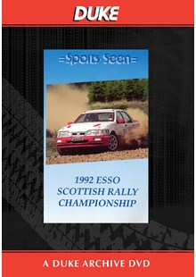 Scottish Rally Championship 1992 Duke Archive DVD
