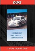 Scottish Rally Championship 1993 Duke Archive DVD