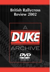 BRDA Rallycross Review 2002 Duke Archive DVD