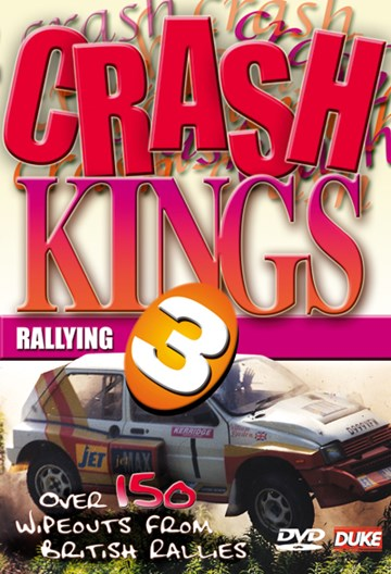 Crash Kings Rallying 3 NTSC DVD - click to enlarge