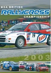 British Rallycross 2003 DVD