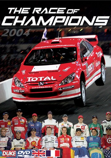 Race of Champions 2004 DVD - click to enlarge