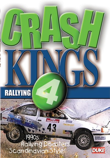 Crash Kings of Rallying 4 DVD - click to enlarge