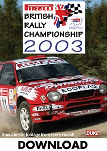 Pirelli British Rally Championship Review 2003 - Download