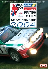 Pirelli British Rally Championship Review 2004 DVD
