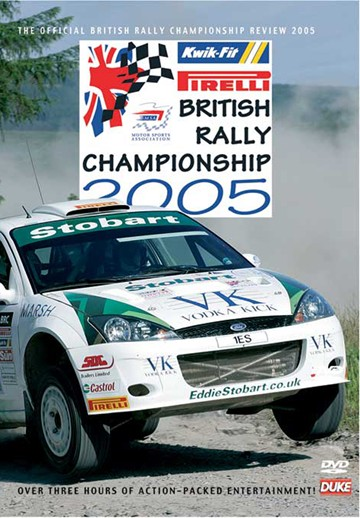 British Rally Championship Review 2005 DVD - click to enlarge