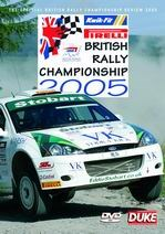 British Rally Championship Review 2005 DVD NTSC