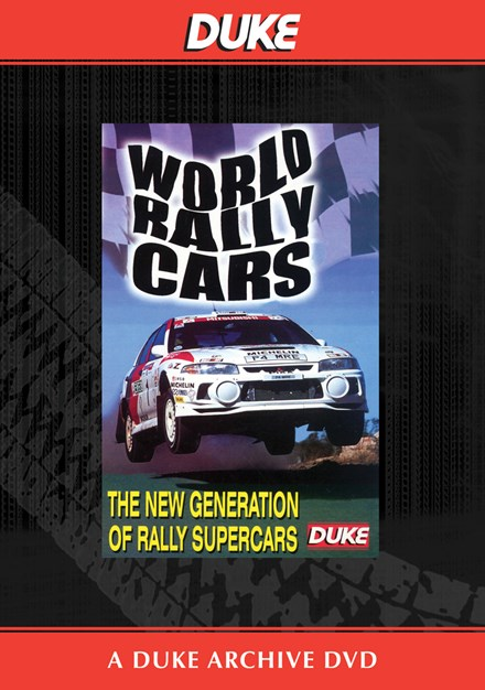 World Rally Cars Duke Archive DVD