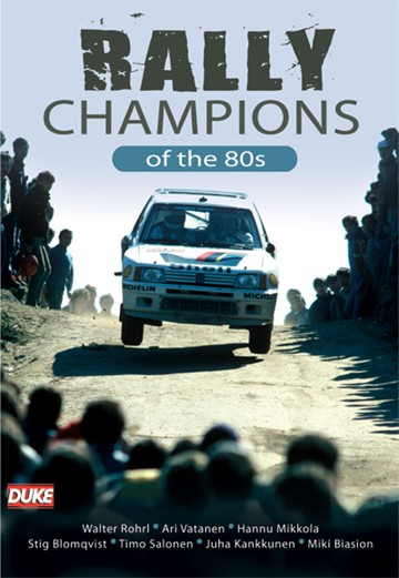 Rally Champions of the 1980s DVD - click to enlarge