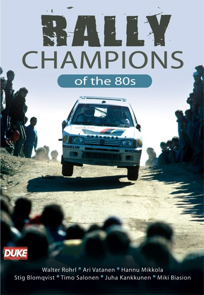 Rally Champions of the 1980s DVD