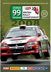 British Rally Championship Review 2008 DVD