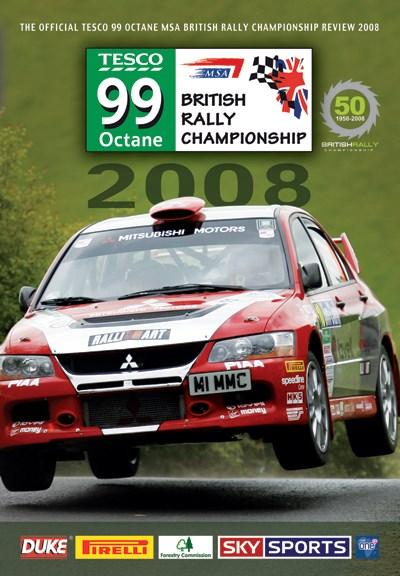 British Rally Championship Review 2008 DVD