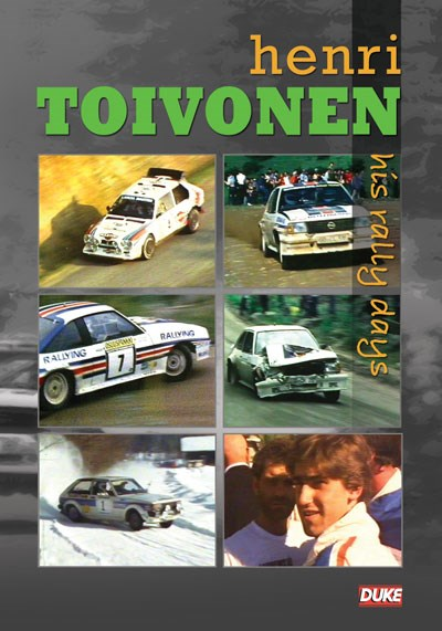 Henri Toivonen His Rally Days DVD