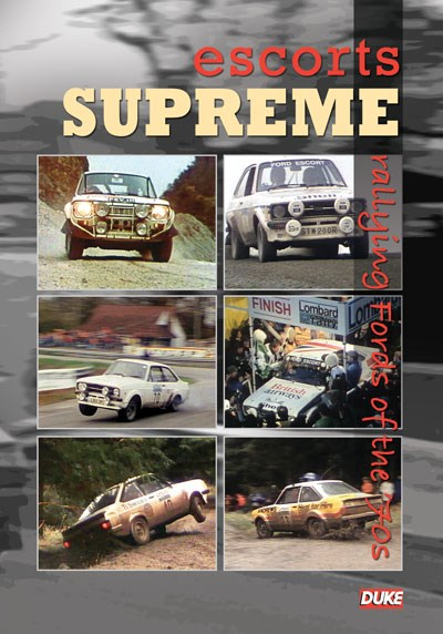 Escorts Supreme Rallying Fords of the 70s DVD