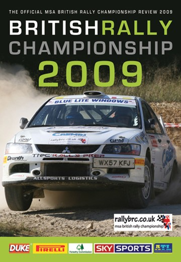 British Rally Review 2009 DVD  - click to enlarge