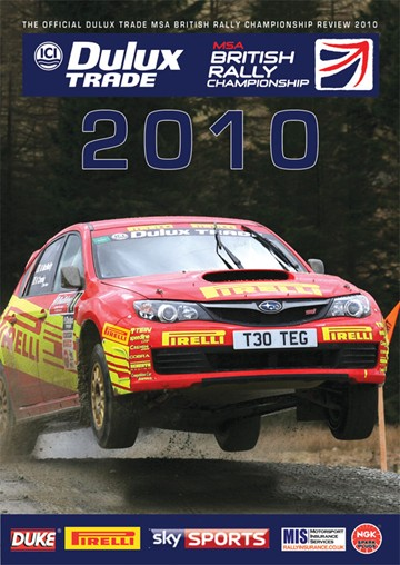British Rally Championship Review 2010 DVD - click to enlarge