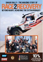 Dakar Rally - The Amazing Story of Race2Recovery DVD