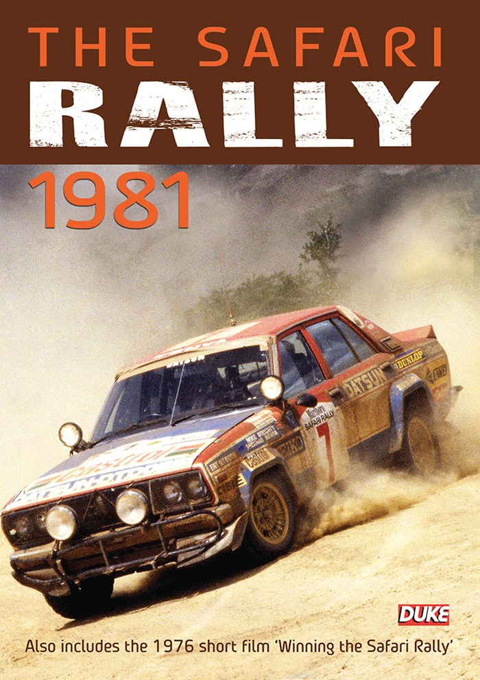 Safari Rally 1981 DVD