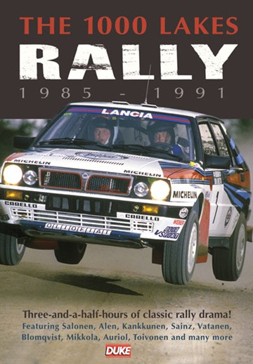 The 1000 Lakes Rally 1985-91 DVD - click to enlarge